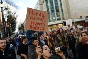 lavorare per i diritti umani