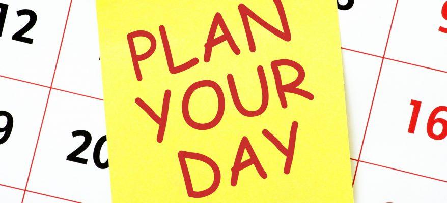 Come pianificare la giornata: tre tecniche